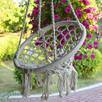 HUŚTAWKA ogród bocianie gniazdo fotel dla dzieci