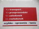 Transport- przeprowadzki - meblowóz