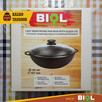 Kociołek żeliwny patelnia WOK 5 litrów Biol - 1