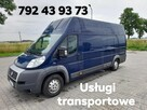 Usługi transportowe bus blaszak L4h3 furgon transport