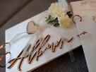 album ślubny na zdjęcia rustykalny prezent dla pary młodej