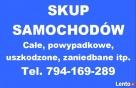 SKUP AUT - SAMOCHODÓW Poznań tel. 794-169-289 Poznań