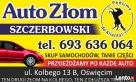 Auto Złom Małopolska Śląsk złomowanie, szrot, skup aut Wadowice