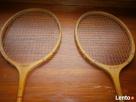 Rakiety drewniane do badmintona firmy GERMINA DUETT DDR - 2