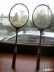 Rakiety drewniane do badmintona firmy GERMINA DUETT DDR - 3