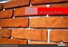 Cegła cięta - płytki ze starej cegły www.kamien-ciety.pl Świebodzin