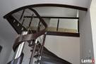 Podkarpackie schody z drewna Tarnobrzeg