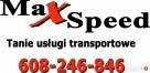 TANIO SZYBKO NIEZAWODNIE - Okazjonalny przewóz osób MAXSPEED - 1