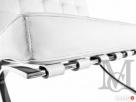 Sofa inspirowana projektem Barcelona 3-osobowa 100% skóra - 7