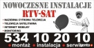 montaż ANTEN nc+ cyfrowy polsat USTAWIANIE anten warszawa Warszawa