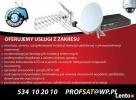 montaż instalacja ANTEN SAT DVB-T telewizja anteny SERWIS - 2