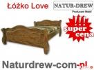 Drewniane Łóżko Love od Producent.Meble Katowice Katowice