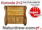 Piękna Drewniana Komoda 2+2 od Producenta,Meble Legionowo