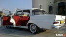 Auto do ślubu biały jaguar-zabytkowe mercedesy - 6