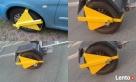Blokada na koło samochód przyczepa