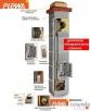 Systemy kominowe PLEWA Uni-Fu 180x180 3 mb komin ceramiczny Suchedniów