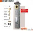 Systemy kominowe OSMOSE fi 200 Uniwersal 3mb komin ceramiczn Suchedniów