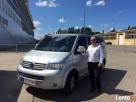 BUS TAXI VW Caravelle dla 8 pasażerów Gdańsk