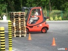 Kurs na operatora wózka widłowego z wymianą butli LPG Wieluń