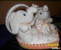Sprzedam parkę pluszowych słoni - 2