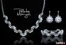 Biżuteria Ślubna Swarovski - piękny komplet - 2