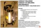 AGREGAT MALARSKI PISTOLET LAKIERNICZY BIELARKA DO WAPNA FV23 - 3