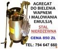 AGREGAT DO BIELENIA WAPNEM I MALOWANIA EMULSJĄ OPRYSKIWACZ - 1