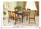 Zestaw FUKSJA | stół + 6 krzeseł |