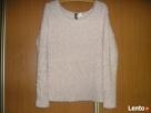 sweter włochacz pudrowy róż 36-38 Dyvided Słupsk