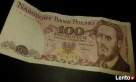 Banknot 100 zł z 1988 Radom