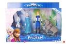 Zestaw Figurek Frozen Elza Olaf Sven Kraina Lodu - 6