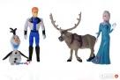 Zestaw Figurek Frozen Elza Olaf Sven Kraina Lodu - 1