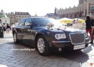 Auta do ślubu Kraków, Chrysler 300C, wynajem limuzyn, - 1