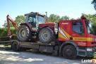 Transport maszyn budowlanych, rolniczych, aut cię Słupca