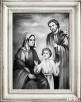 OBRAZ OLEJNY ŚWIĘTA RODZINA ręcznie malowany Limanowa