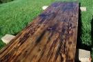 Blaty drewniane ze starego drewna Stare deski Loft Stół - 4