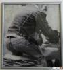 Artystyczne zdjęcia cz-b oprawione w ramki drewniane - 2