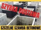 Szambo szczelne zbiorniki na szamba 5 lat gwarancji ścieki