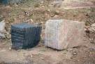 Ukraina. Bloki kamienne, kostka czarna, czerwona 180 zl/tona