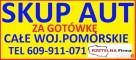 SKUP AUT TEL.609911071 TCZEW,TURZE,BAŁDOWO,SUBKOWY,GNIEW - 3