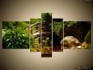 Japoński Ogród, OBRAZY, płótno Canvas, pomysł na prezent - 3