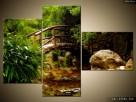 Japoński Ogród, OBRAZY, płótno Canvas, pomysł na prezent - 2