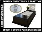 pomnik z plastiku, pomnik cmentarny z tworzywa sztucznego - 1