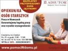 OFERTY pracy dla opiekunek - szkolenie - Toruń