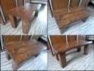 stolik stół kawowy ława NA WYMIAR z drewna drewniany - 7