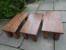 stolik stół kawowy ława NA WYMIAR z drewna drewniany - 8