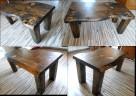stolik stół kawowy ława NA WYMIAR z drewna drewniany - 6