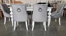 Krzesło pikowane z kołatką i pinezkami Nowe Glamour - 8