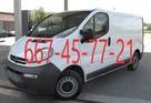 Usługi transportowe, przeprowadzki, przewóz rzeczy i mebli