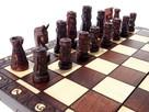 ORYGINALNE drewniane szachy ZAMKOWE 54x54 cm ! - 3